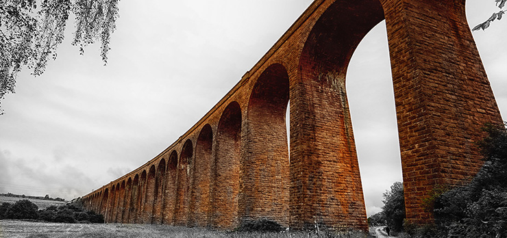 Culloden Viaduct in Schottland von Kurt Flückiger Photography