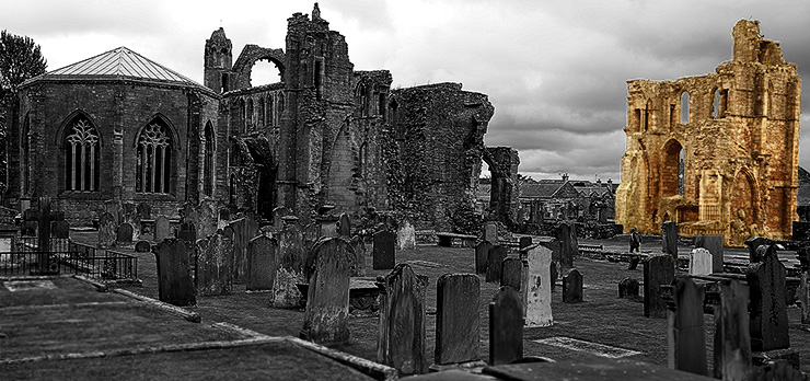 Ruins of Elgin in Schottland von Kurt Flückiger Photography