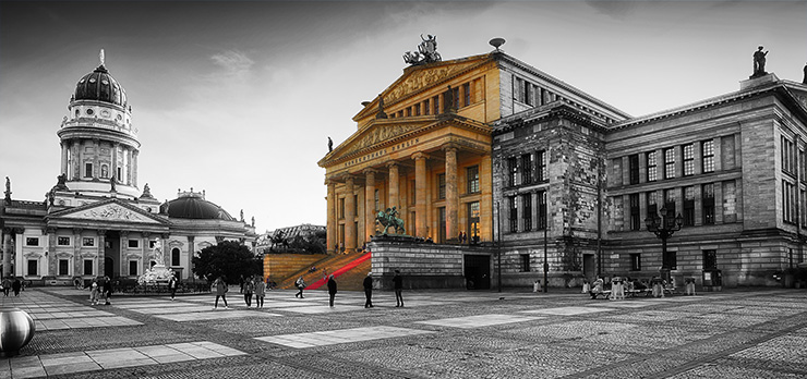 Gendarmenmarkt by Kurt Flückiger Photography