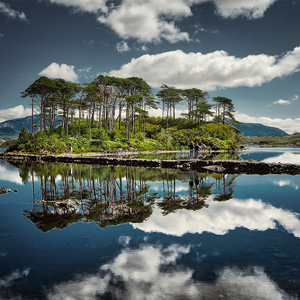 image from Ireland's Beautiful Derryclare Lough