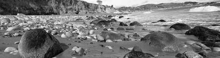 Beautiful Landscape Scene from Shankill Beach