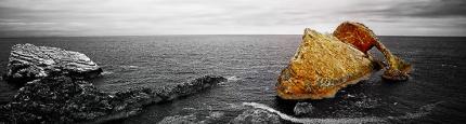 Bow Fiddle Rock in Schottland von Kurt Flückiger Photography