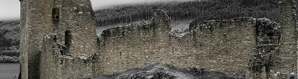 Die Vorderseite vom Schloss Balmoral in Shottland von Kurt Flückiger Photography
